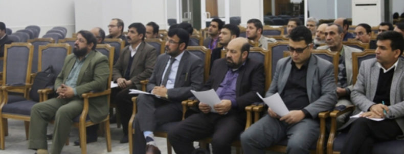 Workshop on selection and identification of PPP project was established in khaibarhal of Ministry of Finance
